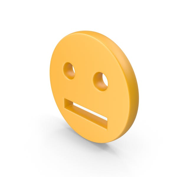 Straight Face Symbol
