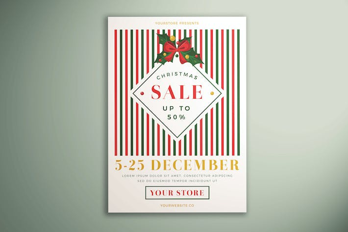 Thumbnail for Christmas Sale Flyer Vol. 04