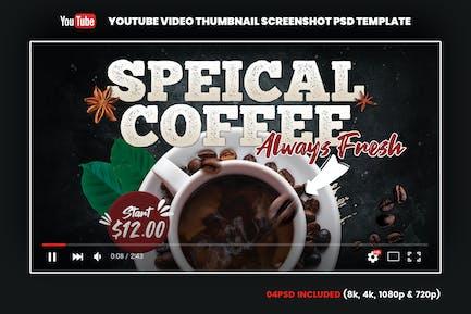 Coffee YouTube Video Thumbnail Screenshot