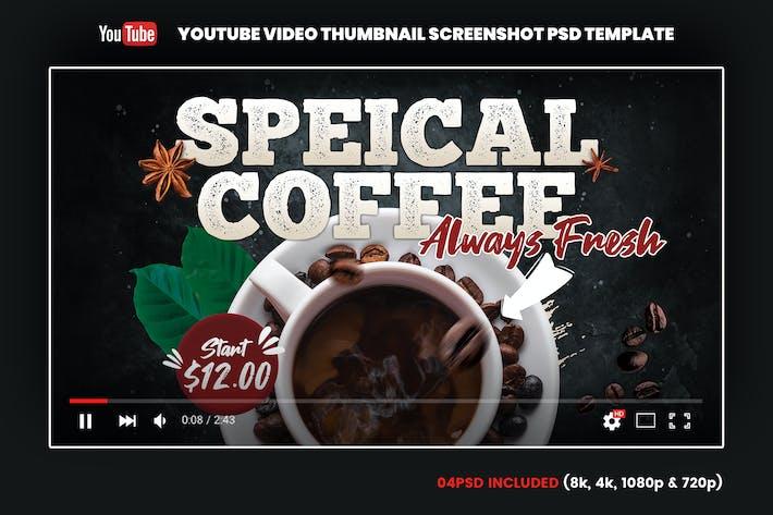 Thumbnail for Coffee YouTube Video Thumbnail Screenshot