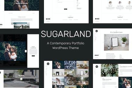 Sugarland – Contemporary Portfolio WP Theme