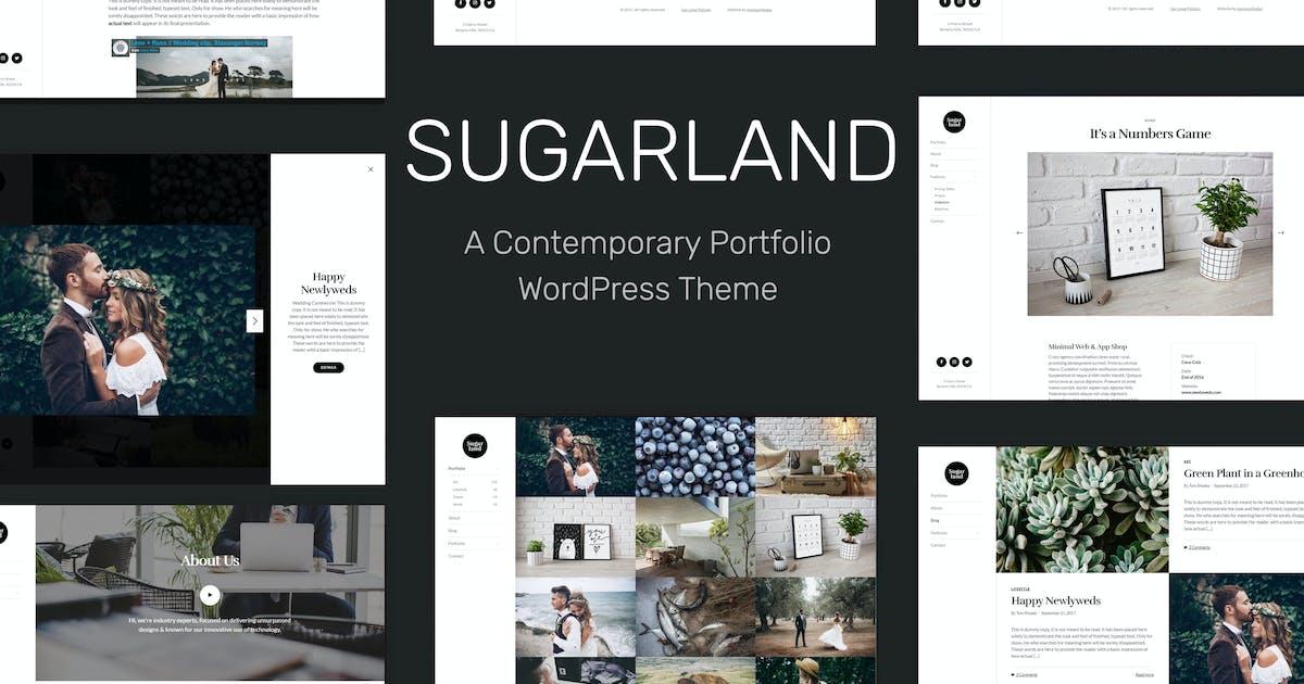 Sugarland – Contemporary Portfolio WP Theme by tommusrhodus