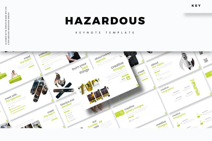 Cover Image For Hazardous - Keynote Template