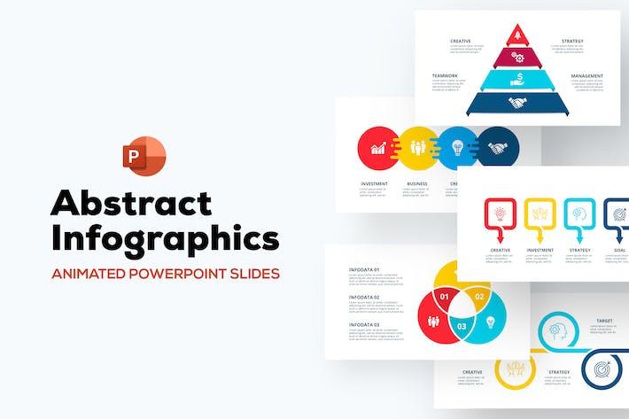 Анимированная абстрактная инфографика PowerPoint Набор 01