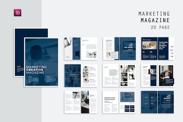 Thumbnail for Creative Marketing Magazine