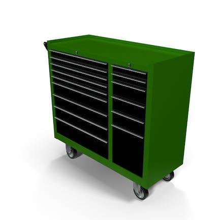 Closed Tool Box Green New