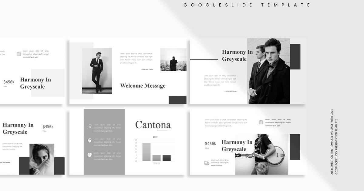 Download Cantona - Google Slides Template by aqrstudio