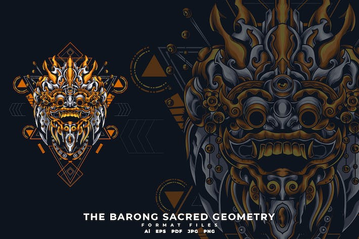 Cover Image For The barong sacred geometry