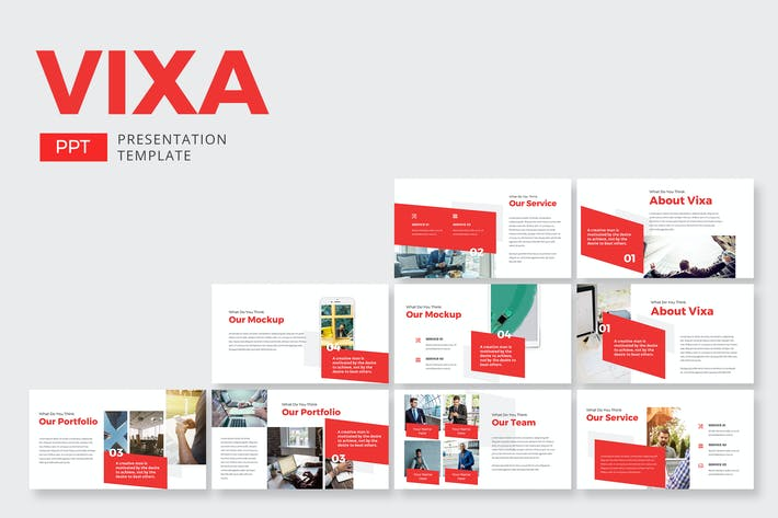 Thumbnail for Vixa Finance - Powerpoint