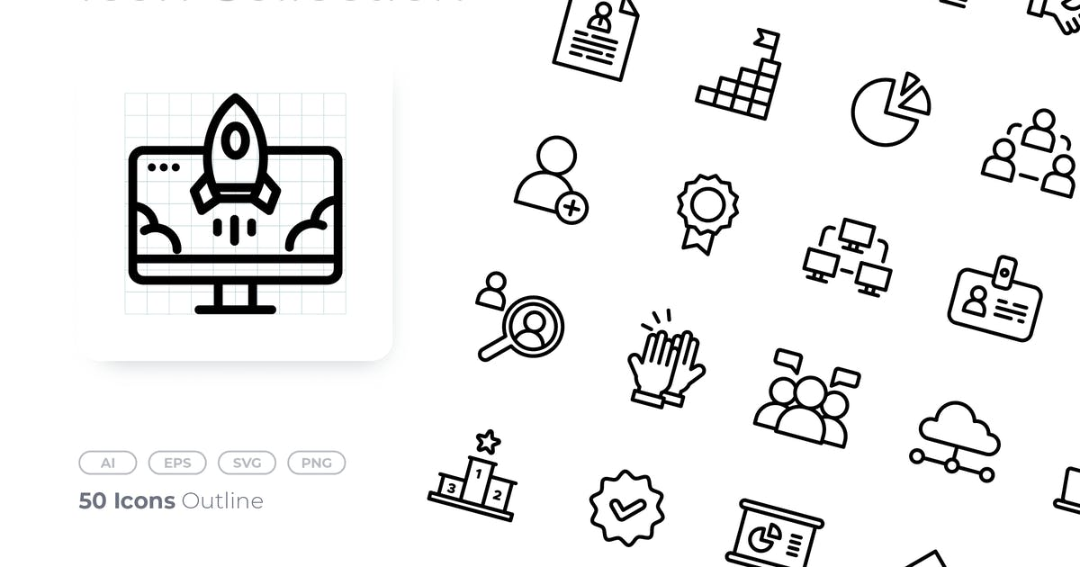 Download Teamwork Outline Icon by GoodWare_Std