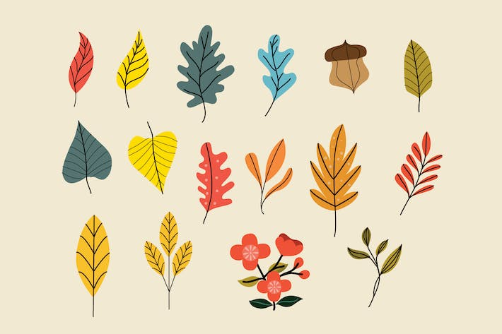 Thumbnail for Floral Organic Vector Pack