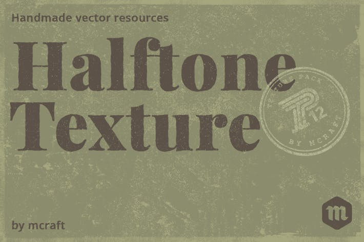 Thumbnail for Halftone Texture Pack Background