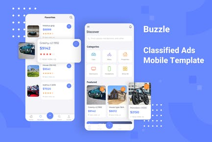 Buzzle - Classifed Ads Mobile Template