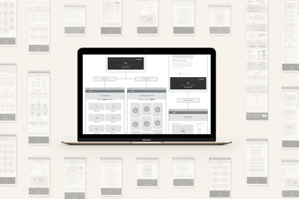 UX Workflow - Wireframe and Sitemap Creator