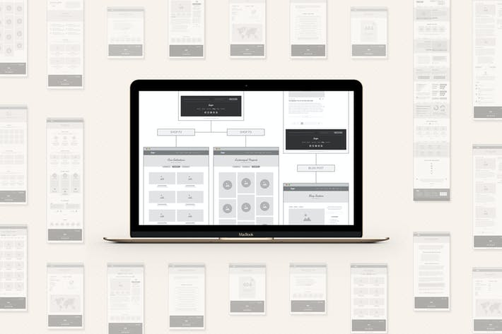 Thumbnail for UX Workflow - Wireframe and Sitemap Creator