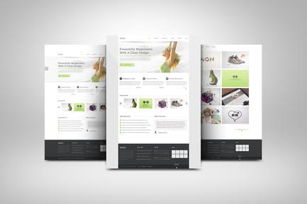 3D Web Presentation Mockup (V1)