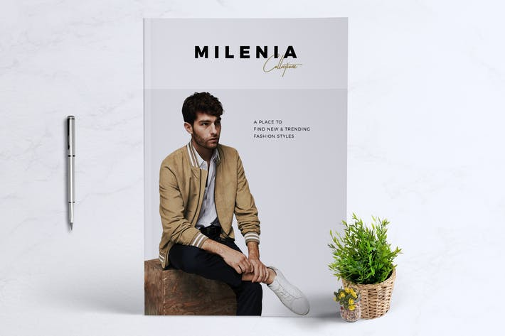 Thumbnail for MILENIA Fashion Lookbook