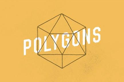 Polygon Gems Illustrations