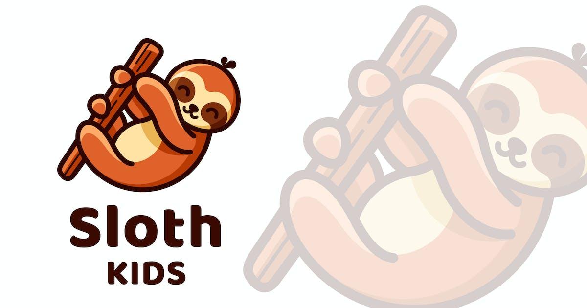Download Sloth Kids Cute Logo Template by IanMikraz