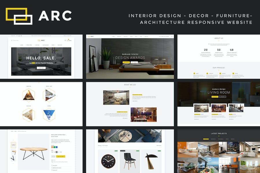 ARC - Interior Design, Decor, Architecture Website