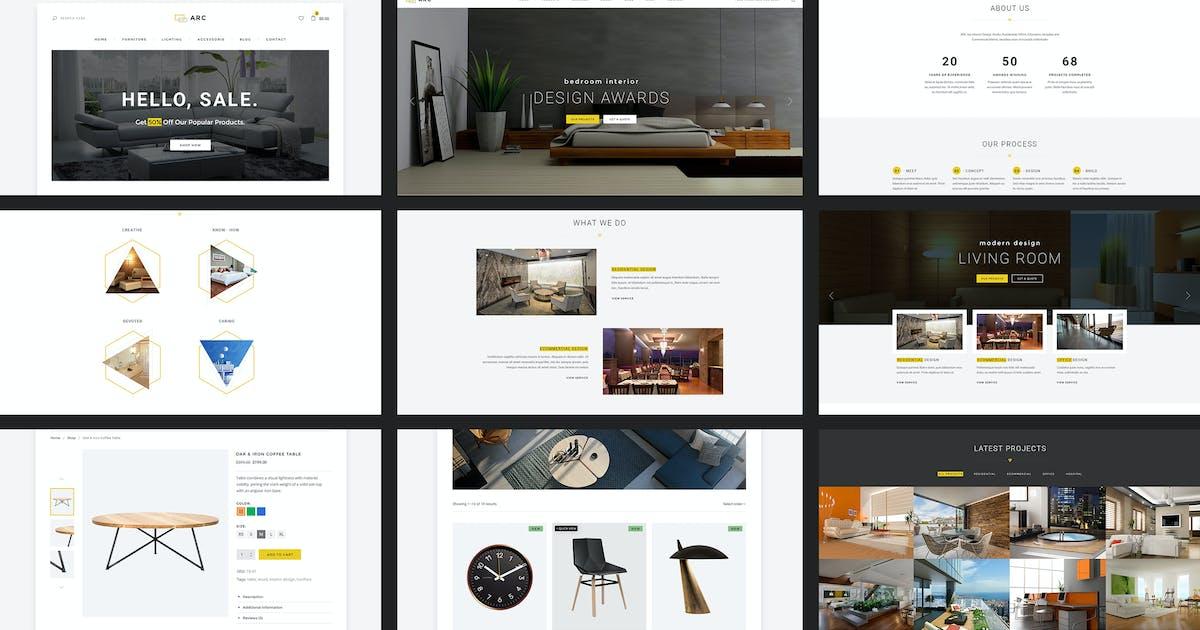 Download ARC - Interior Design, Decor, Architecture Website by AuThemes