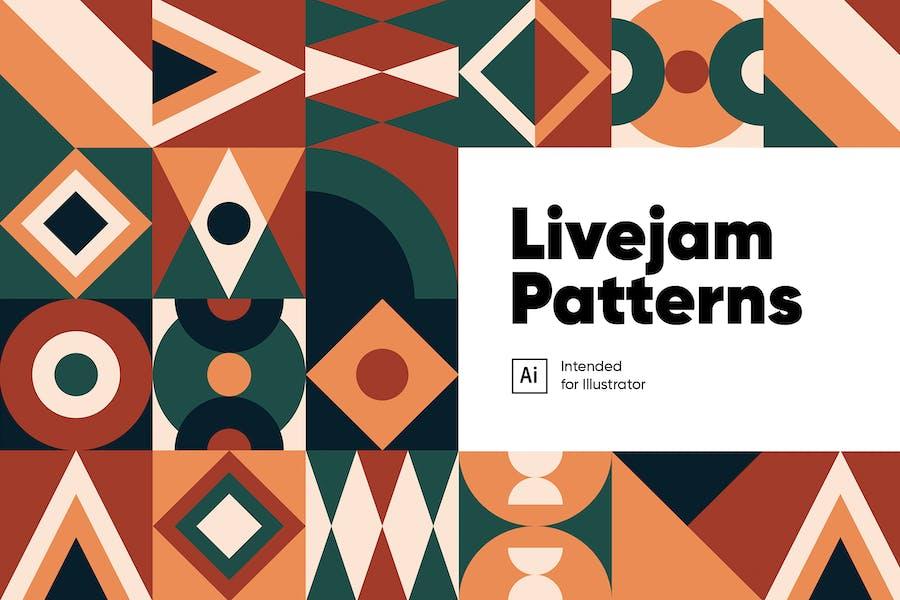 Livejam Abstrakte Muster Pack