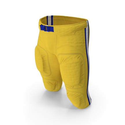 American Football Spieler Hosen Uniform