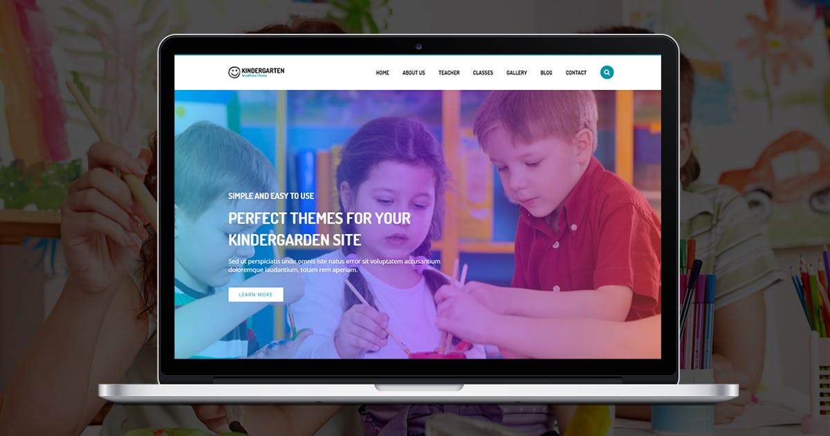 Download Kindergarten HTML by themesawesome