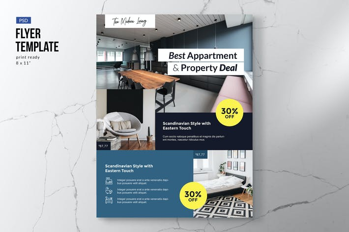 Thumbnail for Property Apartment Furniture Flyer