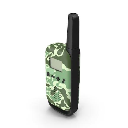 Walkie Talkie Portable Radio Camouflage