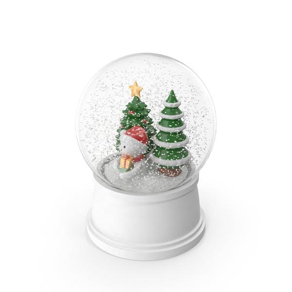 Thumbnail for Christmas Snow Globe