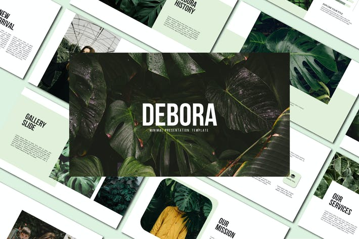 Thumbnail for Debora - Keynote Templates