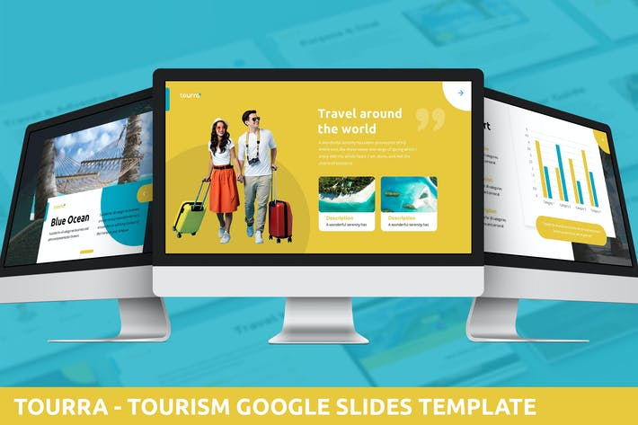 Thumbnail for Toura  - Tourism Google Slides Template