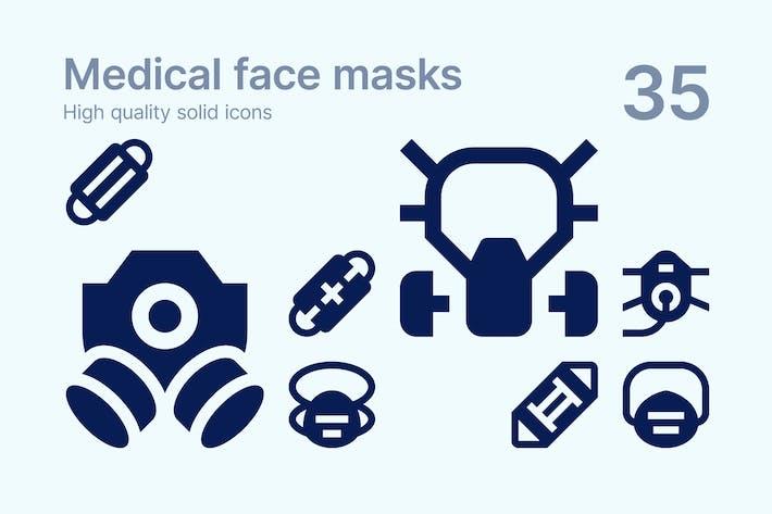 Medizinische Gesichtsmasken