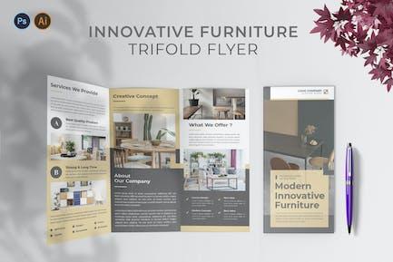 Innovative Furniture – Trifold Brochure
