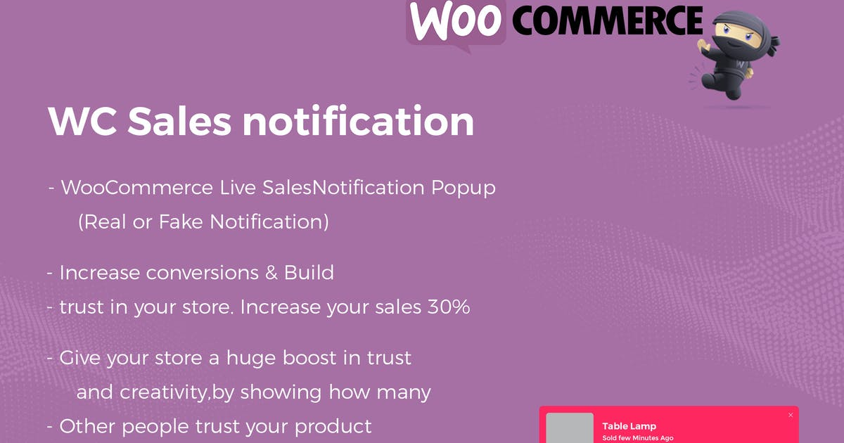Download WooCommerce Live Sales Notification Pro by codecarnival
