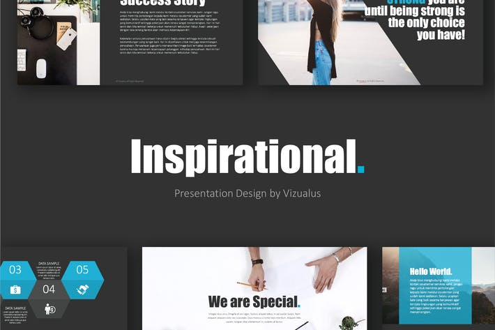 Thumbnail for Inspirational Powerpoint Template