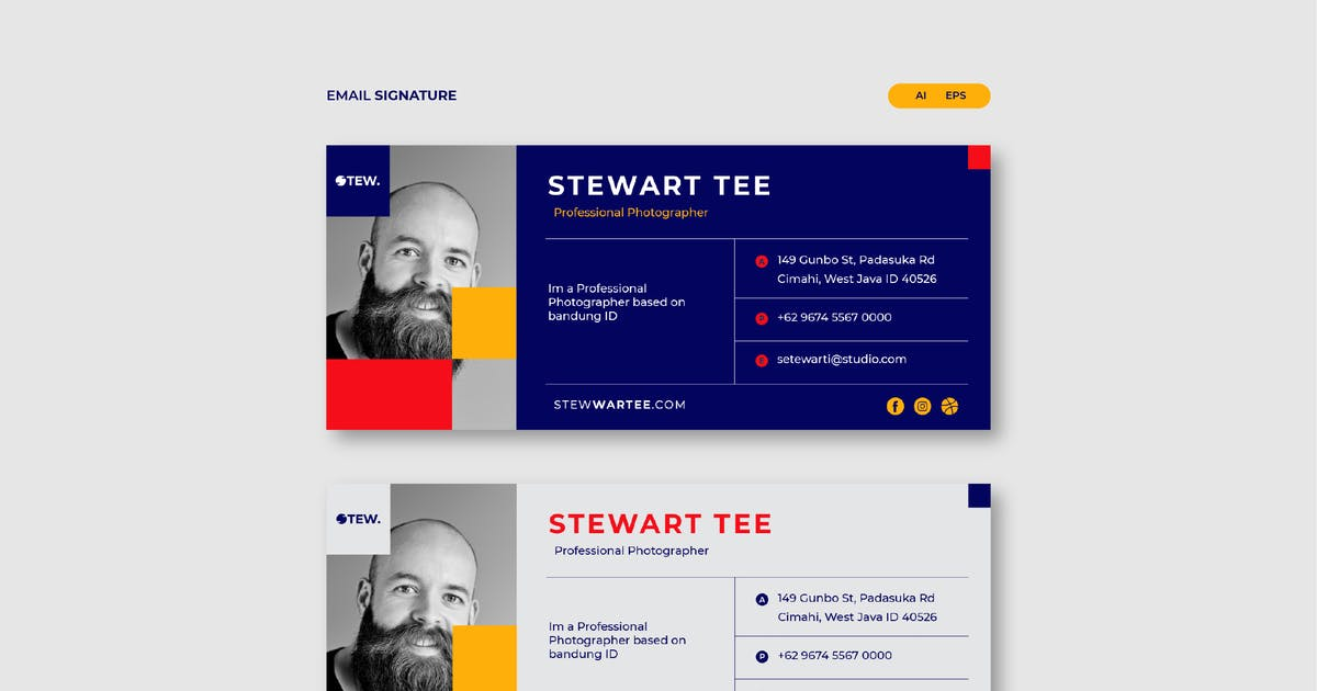 Download Stew Email Signature by celciusdesigns