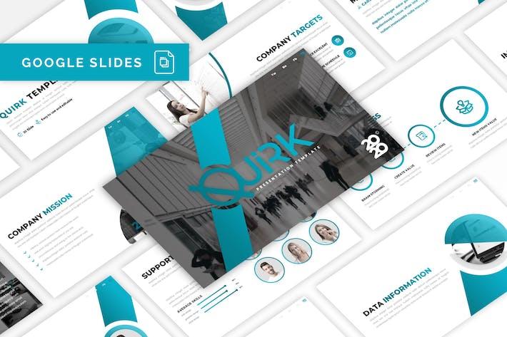 Thumbnail for Quirk - Multipurpose Google Slides Template