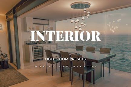 Interior Lightroom Presets Dekstop and Mobile