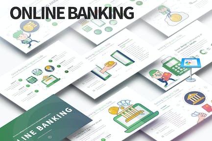 Online Banking - Keynote Infographics Slides