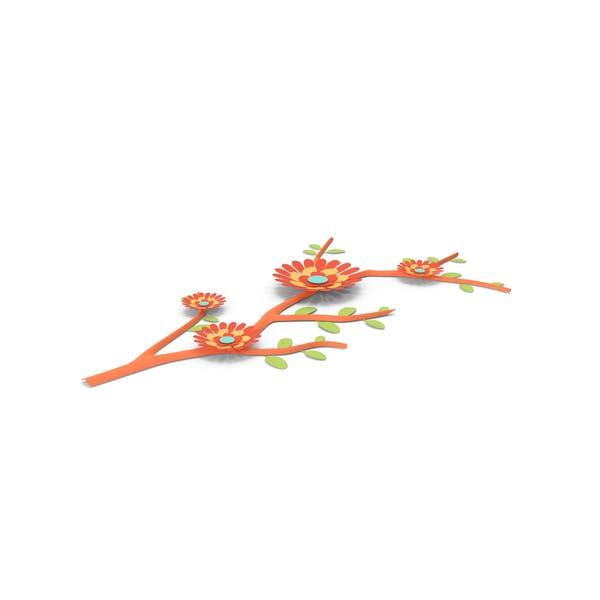 Paper Flower Branch