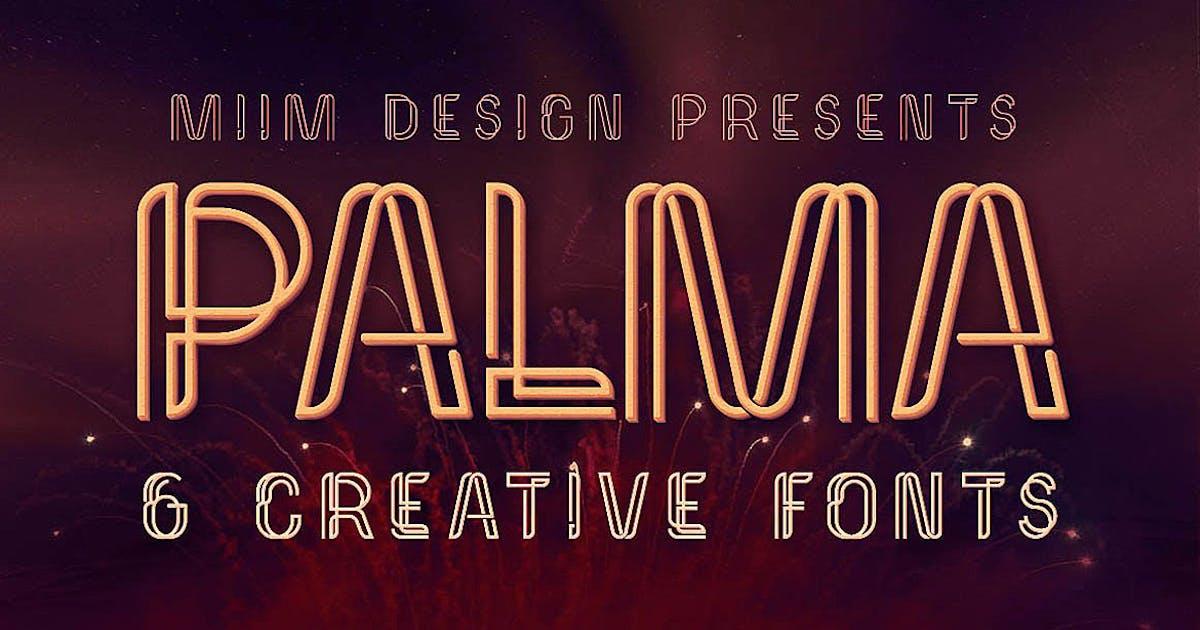 Download Palma - Display Font by cruzine