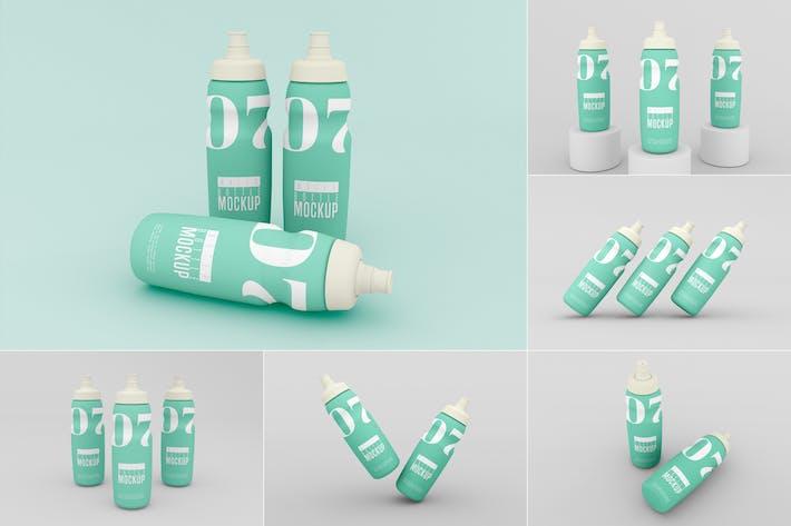 Water Bottle Mockup - Vol 02