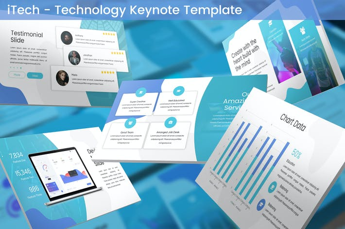 Thumbnail for iTech - Technology Keynote Template