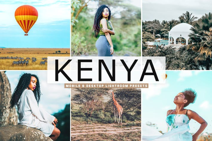 Kenya Mobile & Desktop Lightroom Presets
