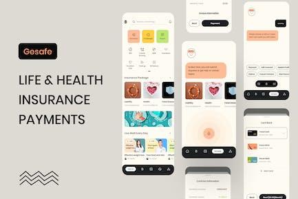 Gesafe Insurance - Mobile Supper App