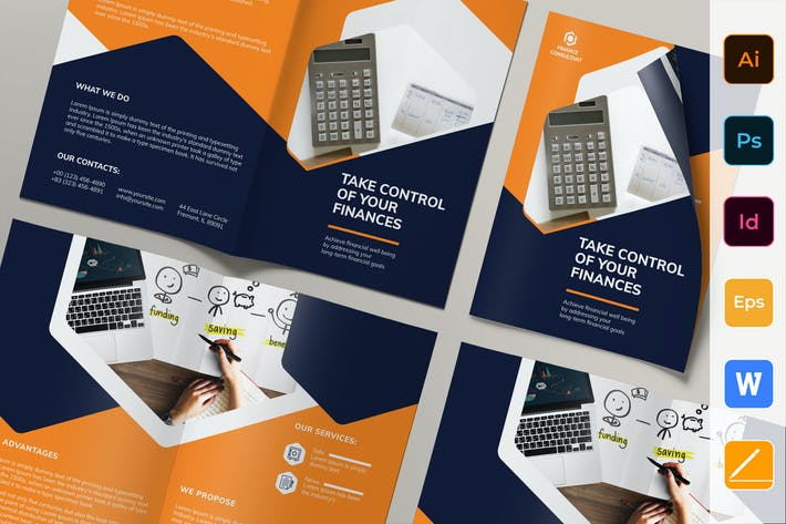 Consultant en finance Brochure Bifold