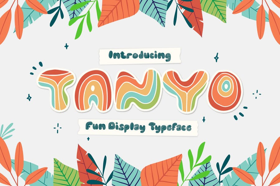 Tanyo Typeface