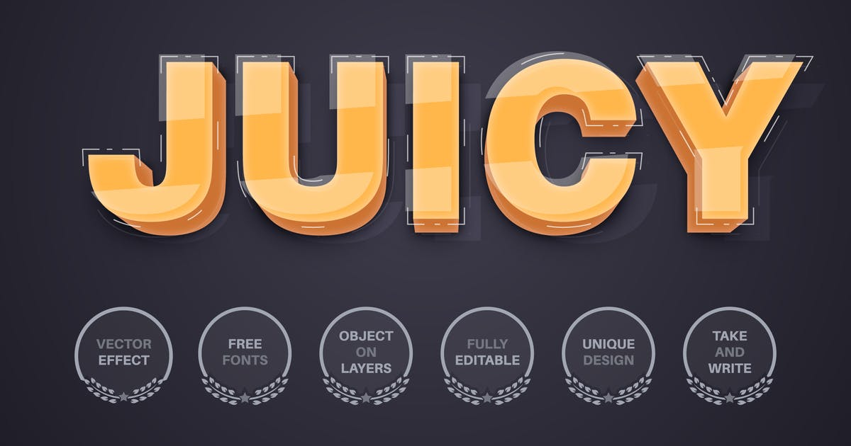 Download 3D yellow - editable text effect,  font style by rwgusev